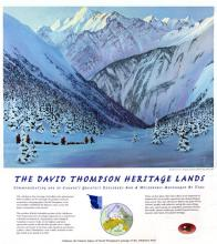 Heritage Lands Poster, David Thompson
