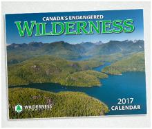 2017 Canada's Endangered Wilderness Calendar