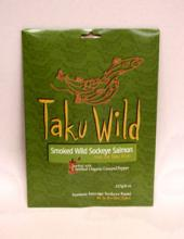 Taku wild smoked salmon with pepper, 227g