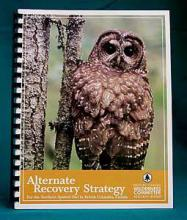 Alternative Recovery Strategy - Northern Spotted Owl, Andy Miller, MSc